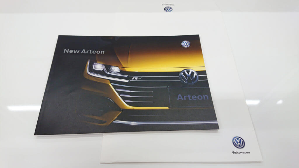 VWのアルテオン見てきました