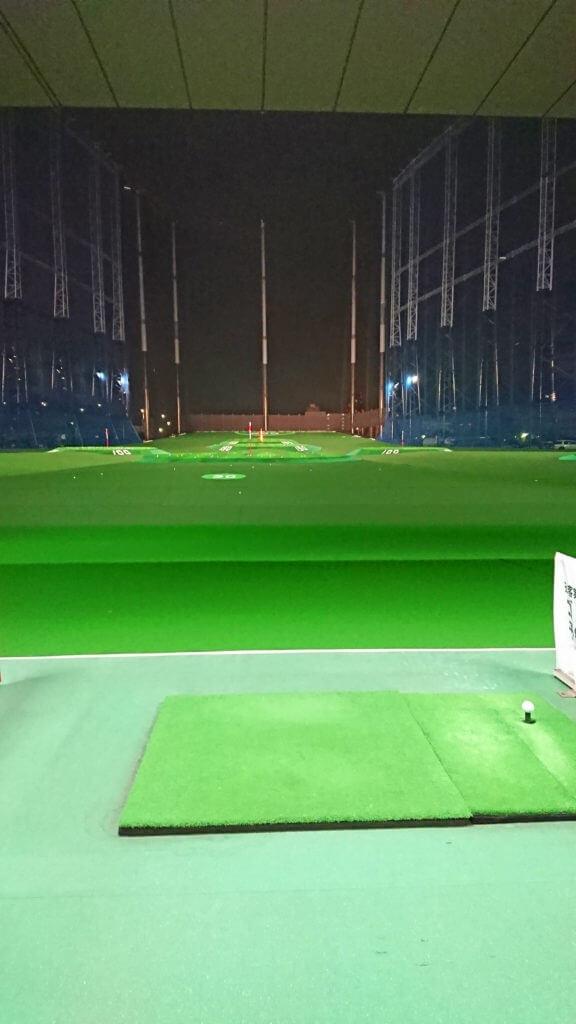 近場ドライブとゴルフの練習