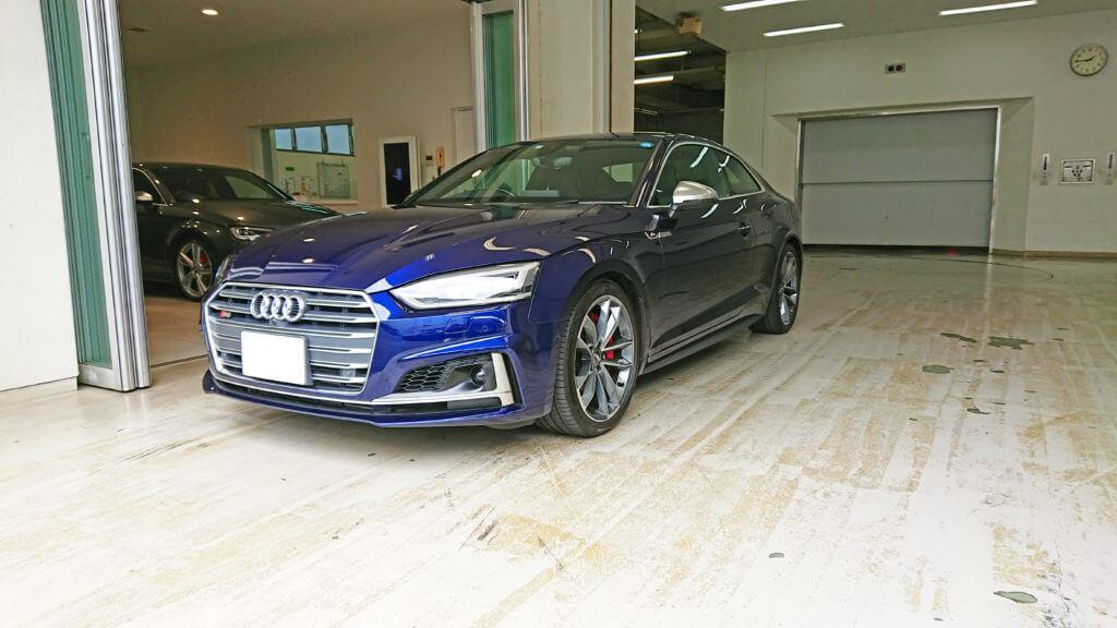 Audi S5に試乗