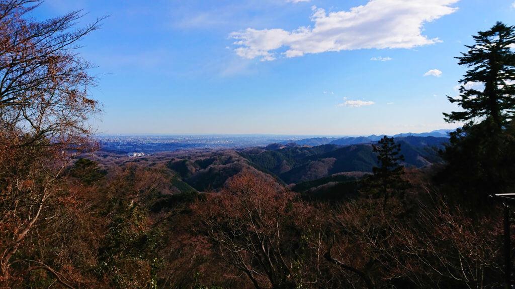 初詣に高尾山