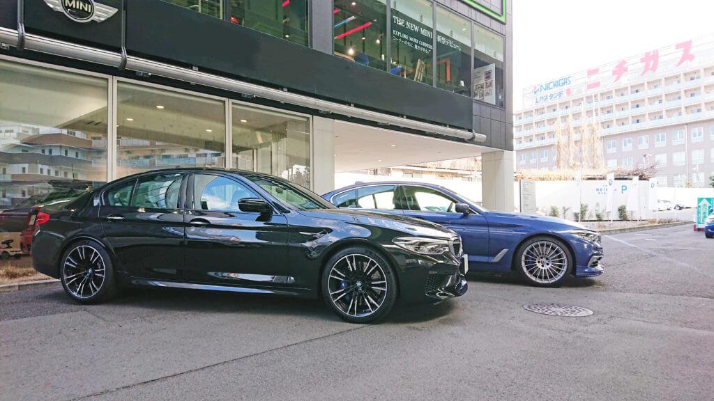 BMW 新型M5とB5