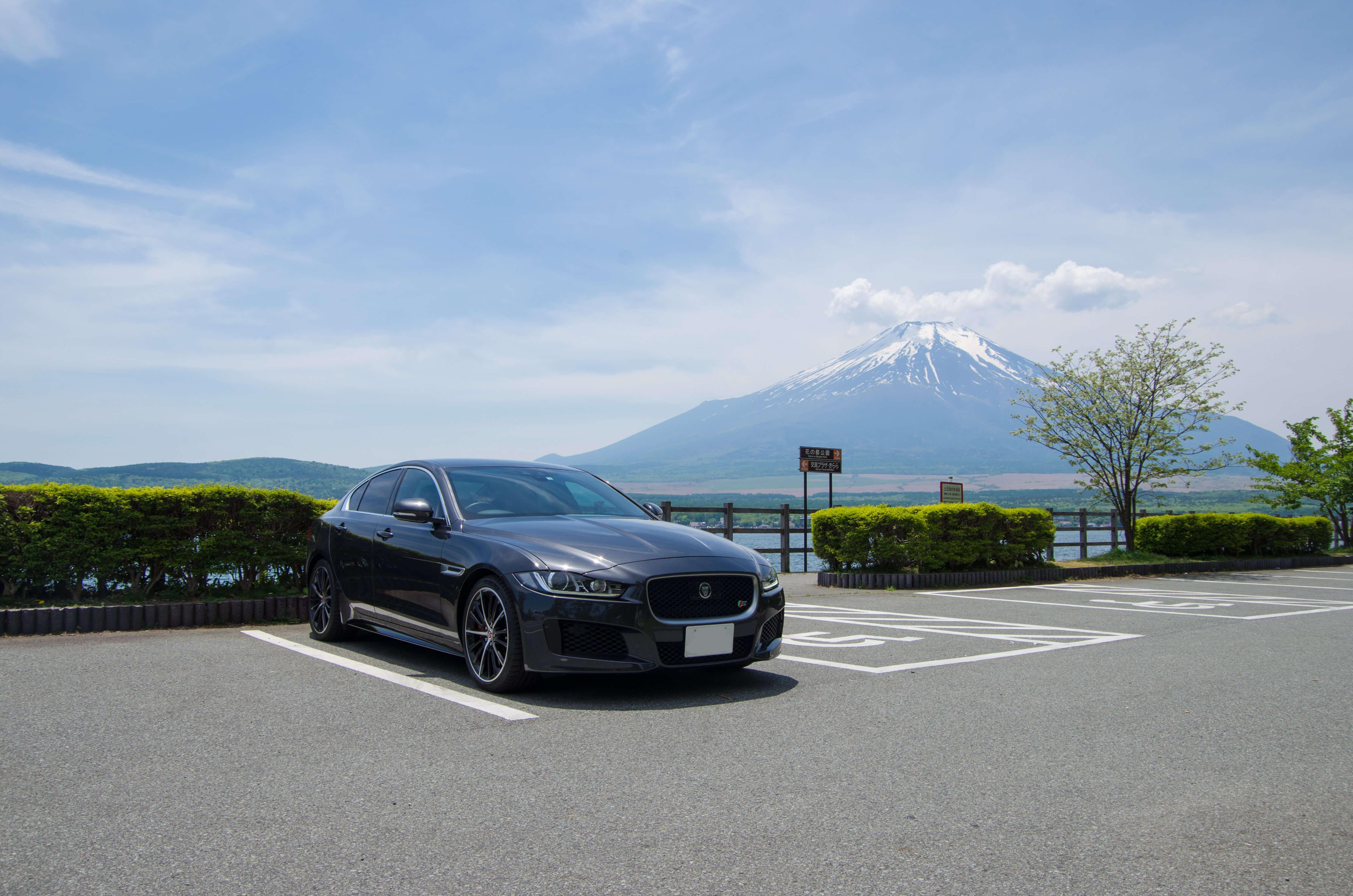 富士山とXE-S