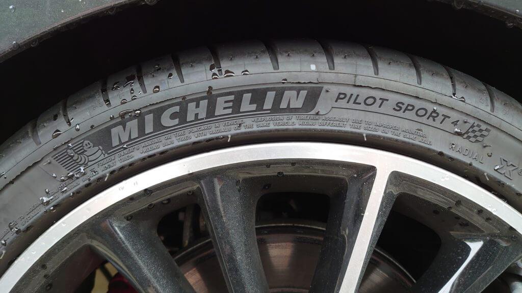 タイヤの消耗