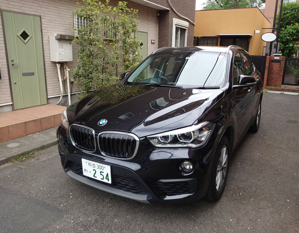 BMW X1の試乗記